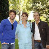 Félix Gómez, Celia Castro y Juan Ribó