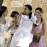 Rosa Lobo se divierte con sus hermanas