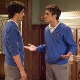 Marcos habla con Iván en 'El último aliento'