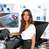 Sara Carbonero en el plató de 'Informativos Telecinco'