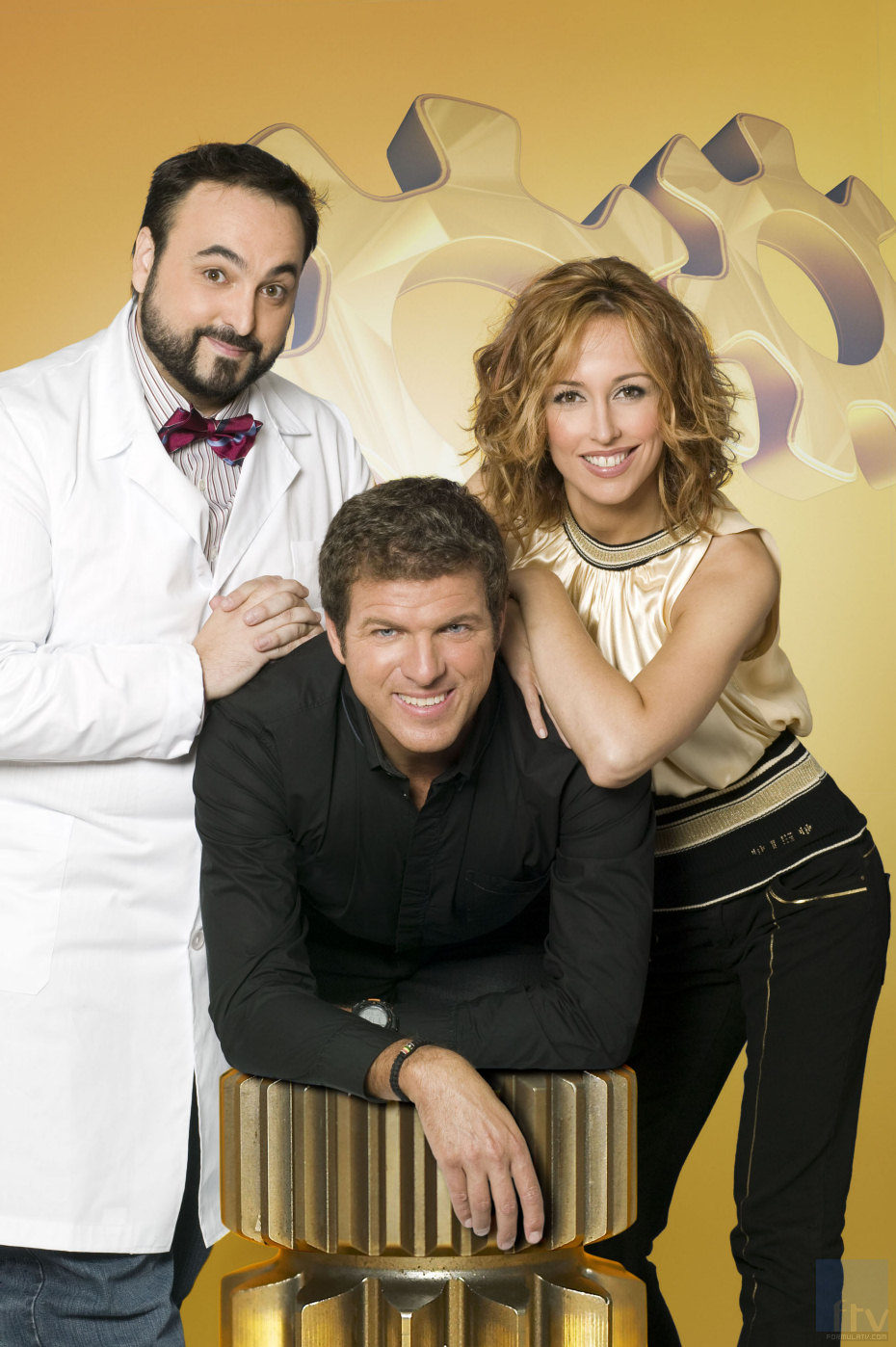 Emma García, Mario Picazo y Manu Gancedo