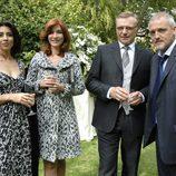 María Casal, Alicia Borrachero y Jordi Rebellón