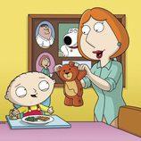 Stewie y Lois Griffin
