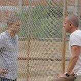 Lincoln y Michael en la cárcel