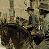 Román y César a caballo