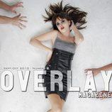 Lucía Ramos, portada de Overlay
