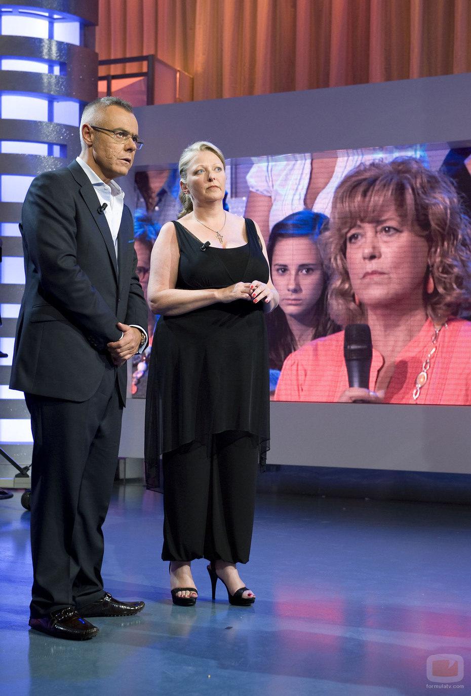 Jordi González y Anne Germain
