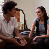 Martín y Olimpia hablan en la cama en 'Excursión'
