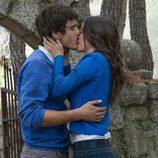 El beso entre Julia e Iván