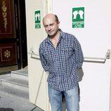 Pepe Viyuela, a la salida del Teatro Español