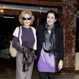 Marisa Paredes y María Isasi