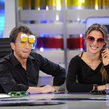 Elsa Pataky estrena gafas con Pablo Motos