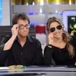 Elsa Pataky se prueba gafas en 'El hormiguero'