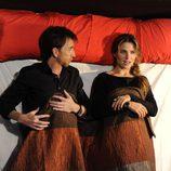 Elsa Pataky en la cama con Pablo Motos