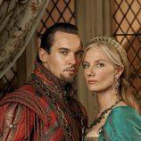 Enrique VIII y Catalina Parr en la cuarta temporada de 'Los Tudor'