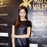 Dafne Fernández durante la presentación de la tv movie 'Alakrana'