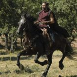 Roberto Enriquez a caballo en 'Hispania'
