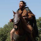Sandro, a caballo