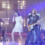 Selena Gomez y su grupo en 'Fama'