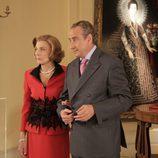 Don Juan Carlos y Doña Sofía en 'Felipe y Letizia'