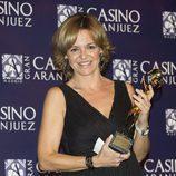 Almudena Ariza en los Premios Antena de Oro