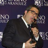 Florentino Fernández en los Premios Antena de Oro