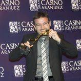 Jordi Évole en los Premios Antena de Oro