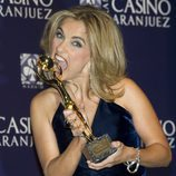 Lourdes Maldonado en los Premios Antena de Oro