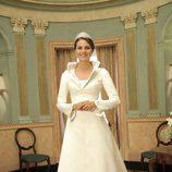 Letizia Ortiz vestida de novia