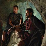 Héctor y Viriato en 'La liberación de los esclavos'