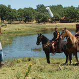 Viriato y Sandro a caballo