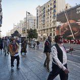 La marcha zombie de 'The walking dead' en Madrid