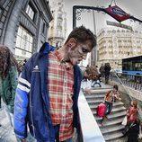 Los zombies promocionan 'The walking dead'