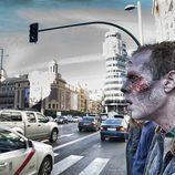 La marcha zombie de 'The walking dead'