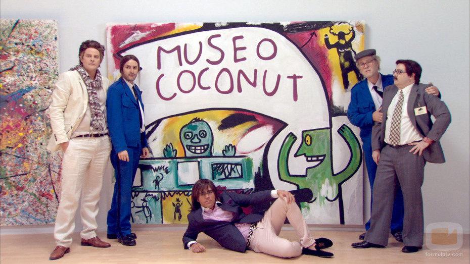 El reparto de 'Museo Coconut'