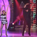 Viko y Carla bailando