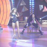 Felisa y Jorge bailando