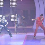 Iron y Yurena bailan en 'Fama'