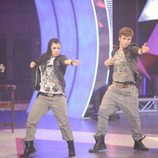 Tania y Guille bailando
