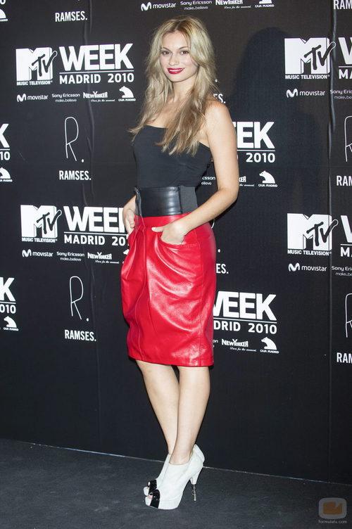Norma Ruiz en los MTV 2010
