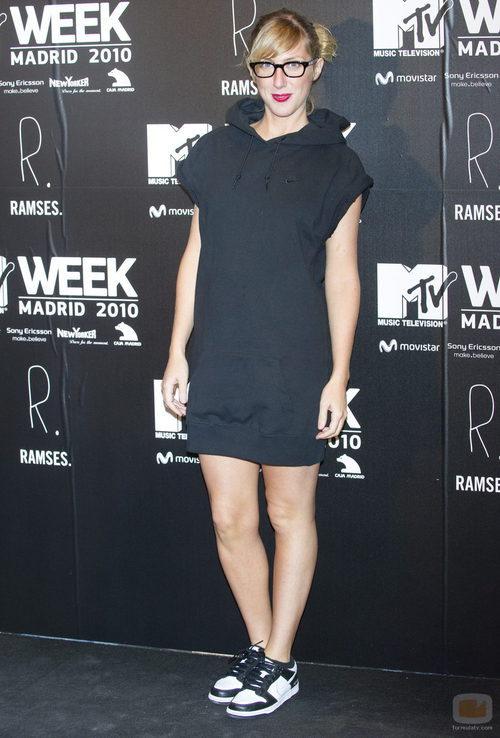 Cecilia Freire en los MTV 2010