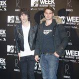 Javier Calvo y Gonzalo Ramos en los MTV 2010