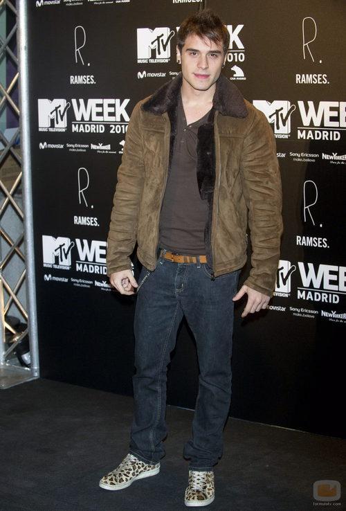 Adrián Rodríguez en los MTV 2010