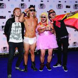 Los MTV Europe Music Awards reciben a The Dudesons