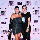 Rossy de Palma posa con Bimba Bosé en los MTV EMA