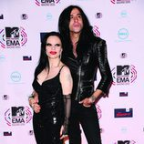 Alaska y Mario Vaquerizo en los MTV EMA