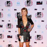 Hofit Golan en la alfombra roja de los MTV Europe Music Awards
