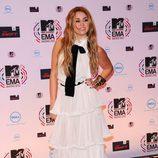 Miley Cyrus, la más tapada de los MTV EMA