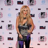Kesha llega a los MTV Europe Music Awards