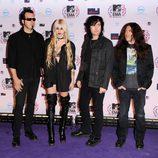 The pretty reckless en los MTV EMA